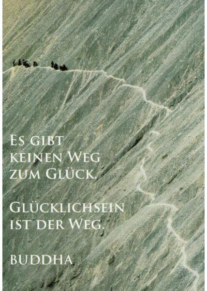 Postkarte Sprüche Der Weg