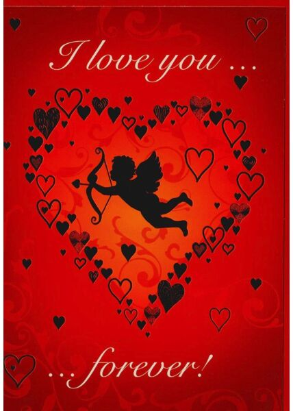 Karte Liebe I love you forever