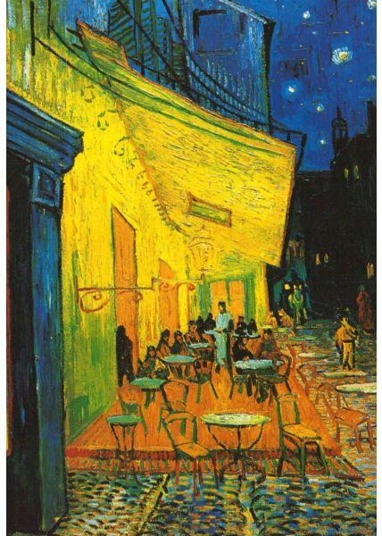 Kunstkarte Vincent van Gogh - Cafe at Arles