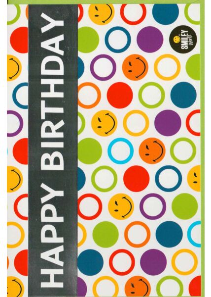 Geburtstagskarte bunt fröhlich