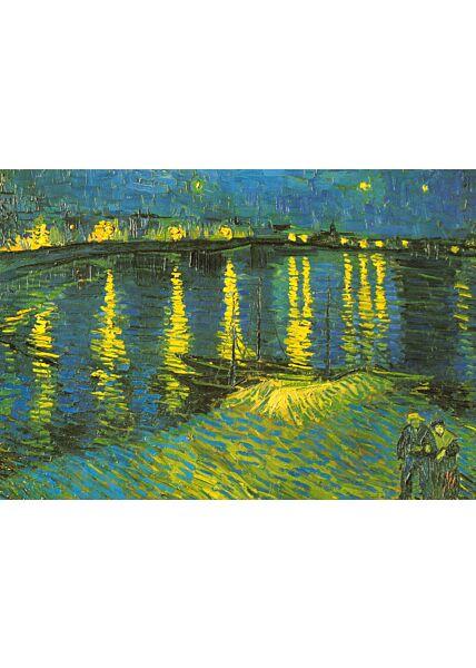 Kunstkarte Vincent van Gogh - Starry Night