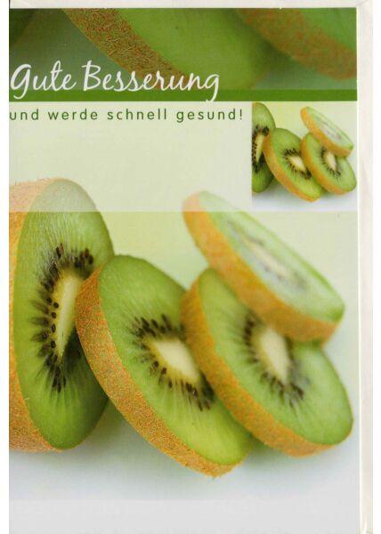 Genesungskarte Kiwi Gute Besserung