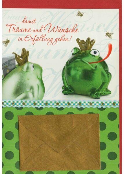 Geburtstagskarte Geldgeschenk: Damit Träume und Wünsche in Erfüllung gehen