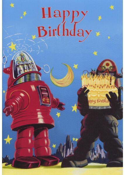 Schöne Doppelkarte Geburtstag 30: Happy Birthday
