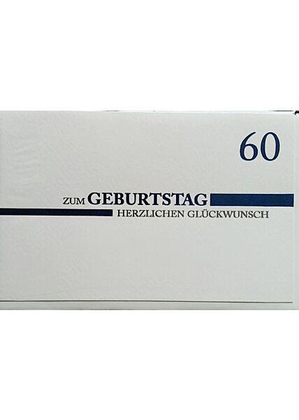 """Geburtstagskarte 60 Geburtstag: """"Zum Geburtstag 60"""""""