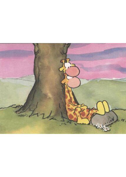 Jan Vis Postkarte Liebe: Baum
