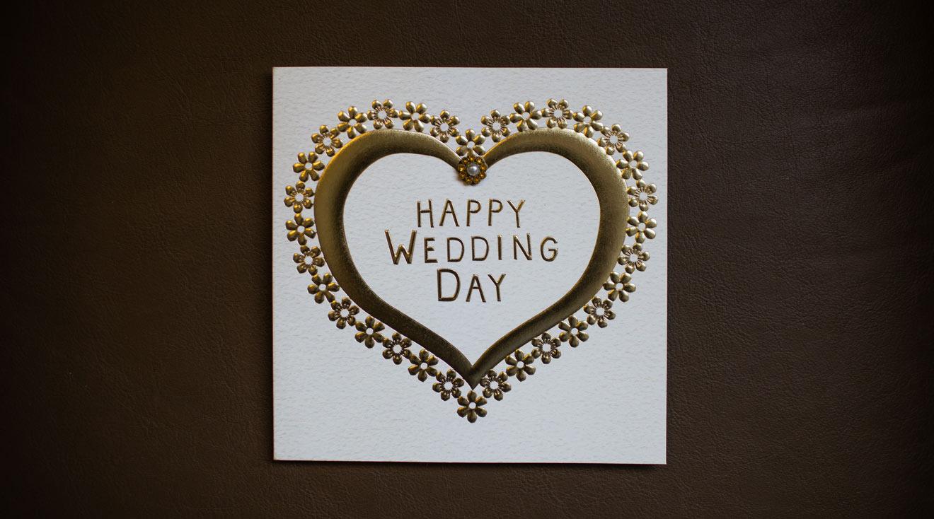 Anleitung zum Hochzeitskarten schreiben