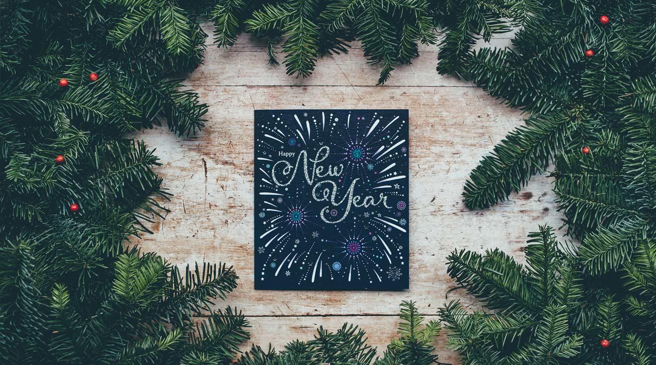 Neujahrskarte schreiben + Neujahrsgrüße & -wünsche